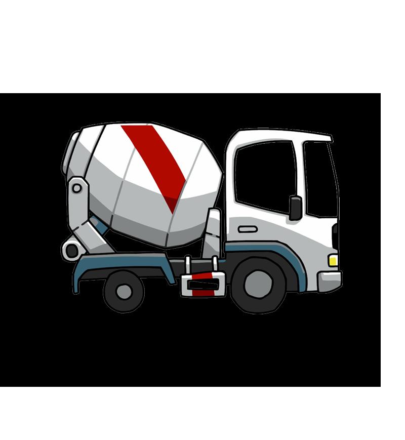 Mixer beton szállító autó