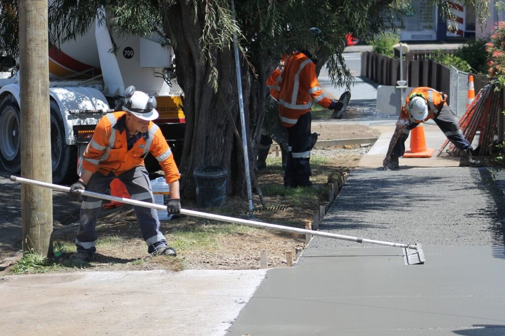 Kültéri beton vastagsága