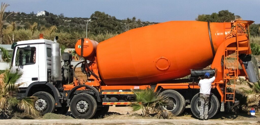 Mixerbeton szállítás