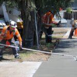 Betonjárda készítés, járda betonozás lépésről lépésre