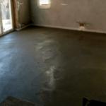 Szoba betonozásának rétegrendje